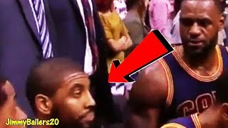 EARLY SIGNS of Kyrie Irving not wanting to play with LeBron James