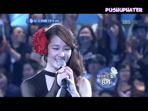 f(x) Krystal speaking English Compilation