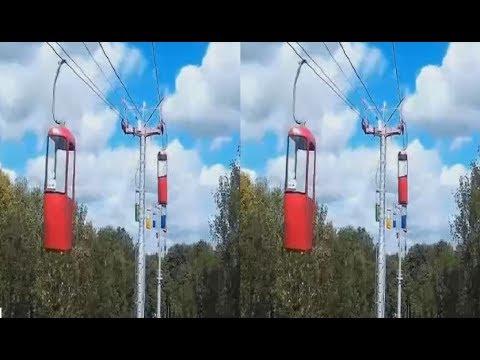 Cableway 3D! Epochal 3D Video! 3D VIDEO
