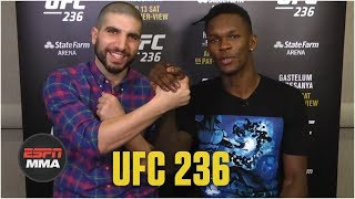Israel Adesanya recaps fighting 3 times in 1 night for $10 grand | ESPN MMA