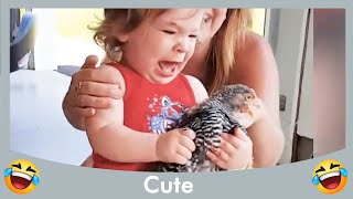 Funniest Baby On A Farm