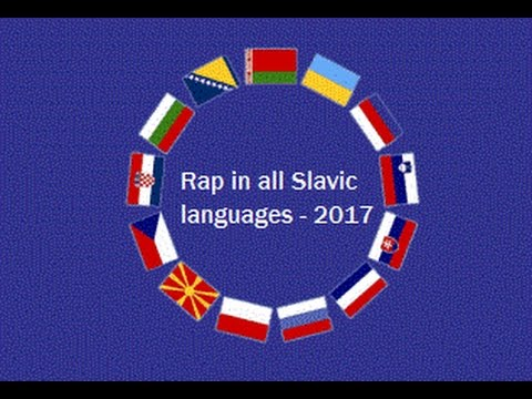 Rap in all Slavic languages - 2017