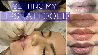 Getting My Lips Tattooed // Cosmetic Tattoo VLOG // Rachael Jade