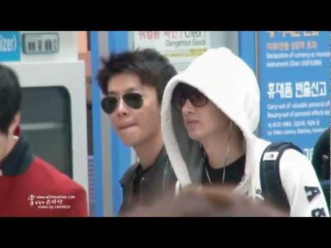 [Fancam] 121028 #EUNHAE @ Incheon Airport [掌心witheunhae]
