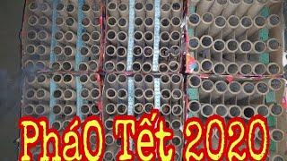 Đốt 6 Dàn Pháo Hoa Đón Giao Thừa Tết Năm 2020 Của SơN Troll Tại Đài Loan