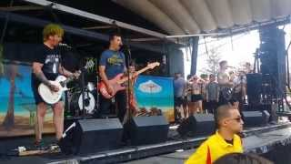 "Senses Fail - ""Buried a Lie & The Path"" (Live at Vans Warped Tour 2015)(HD)"