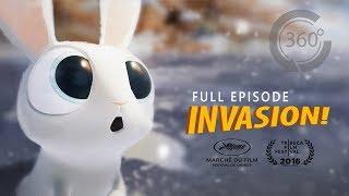 INVASION!   Animated 360 VR Movie [HD]   Ethan Hawke