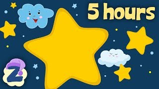 5 Hours of Non Stop Lullabies to Put Your Baby to Sleep 💤🍼Relaxing Music & by Zouzounia TV ⭐