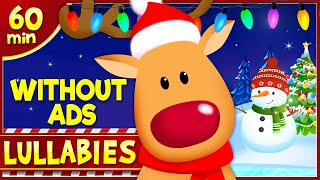 1 Hour Christmas Lullabies WITHOUT ADS ♪ Christmas Music for Sleep ♪  Lullaby - NO INTERRUPTIONS