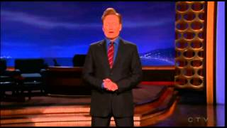 Conan jokes about