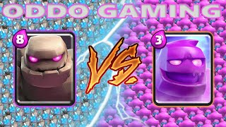GOLEM VS ELIXIR GOLEM - Clash Royale Battle #171
