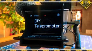 This is How a Teleprompter Works