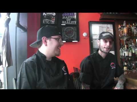 Watch Kuma's Corner chefs make a spotted-dick burger