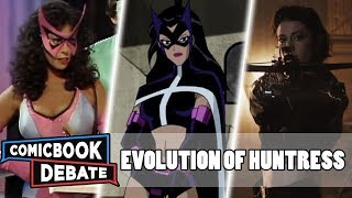 Evolution of Huntress in Cartoons, Movies & TV in 5 Minutes (2019)