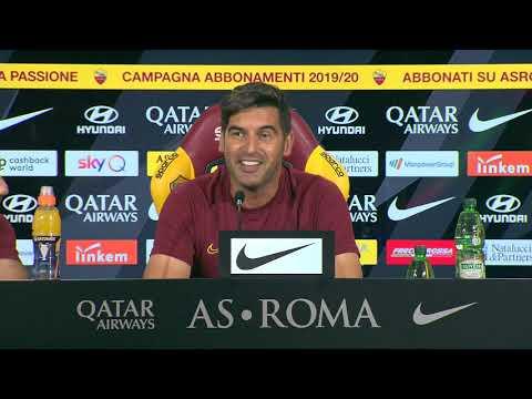 VIDEO - Lazio-Roma: la conferenza stampa integrale di Paulo Fonseca