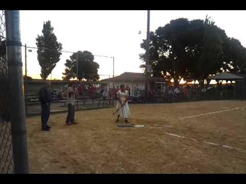 Al Marty the softball queen
