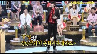 [HD] Eunhyuk's comeback & dancing Dangerous (MJ)