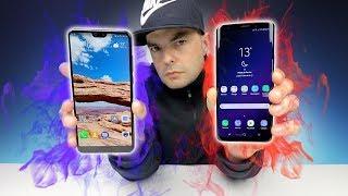 QUAL O MELHOR EM VIDEO? P20 Pro vs Galaxy S9 Plus
