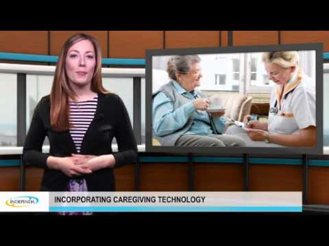 Incorporating caregiving technology in senior living community construction