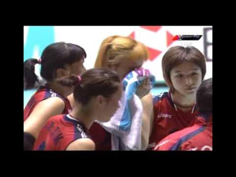2006 World Championships Women's Volleyball KOR X TPE 2SET [2/2]