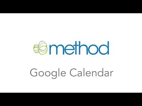[Method CRM] Syncing Google Calendar with Method Activity Calendar