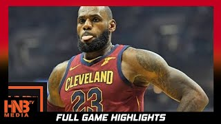 LeBron James (34 pts, 13 ast) Full Highlights vs Bulls / Week 2 / Cavs vs Bulls / 2017 NBA Season