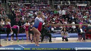 Pauline Tratz 2018 Floor vs Stanford 9.925