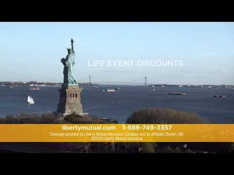 Liberty Mutual Insurance TV Commercial   Life Event Discounts 2015