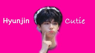 Hwang Hyunjin being extremely cute for 5 minutes straight