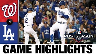 Max Muncy, Walker Buehler lead Dodgers to Game 1 win | Nationals-Dodgers NLDS Game Highlights