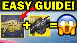 NEW Heir Apparent Exotic Catalyst! - FAST & EASY Guide!   Guardian Games 2021
