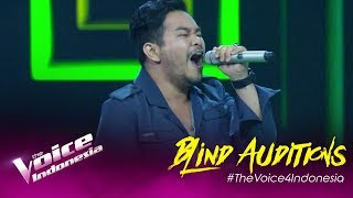 David - Said I Loved You But... I Lied   Blind Auditions   The Voice Indonesia GTV 2019