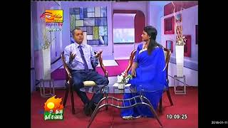 Autism TV interview about eating behaviors by Dr.Sinniah Thevananthan (OSILMO Autism Center)