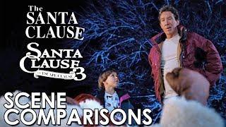 The Santa Clause (1994) and The Santa Clause 3: The Escape Clause (2006) - scene comparisons