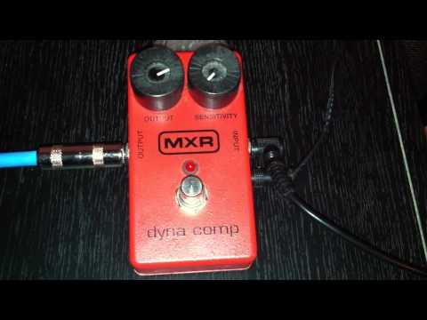 MXR Dyna Comp Demo