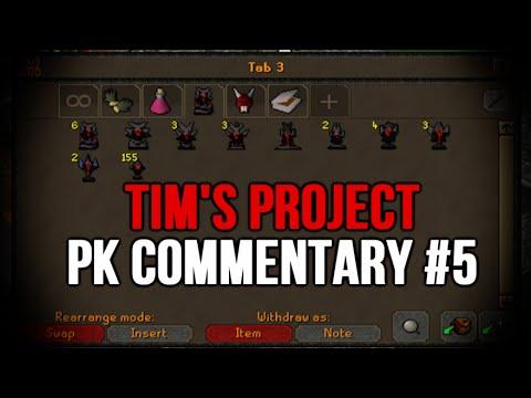 Runescape - Tim's Project Pk Commentary #5 - Bounty Hunter!