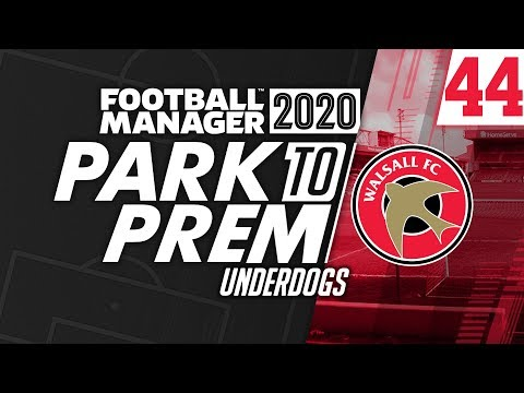 Park To Prem FM20 | Tow Law Town #44 - Underdogs | Football Manager 2020