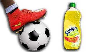 NTN - Thử Thách Đá Bóng Trên Xà Phòng ( Football On Soap )