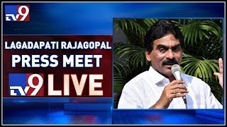 Lagadapati Press Meet On AP Elections 2019 LIVE- Vijayawad..