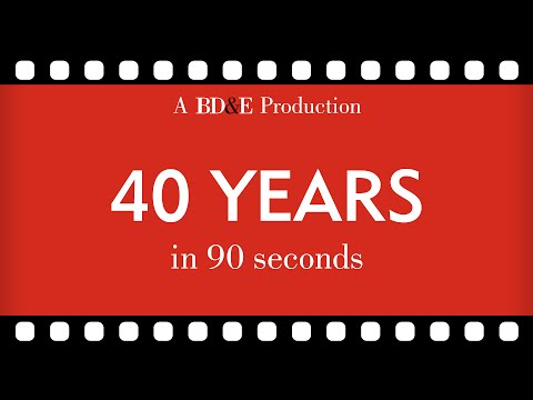 40 years in 90 seconds