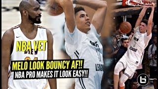 LaMelo Ball & Big O Looking BOUNCIER Than EVER! NBA Vet Makes It Look EASY @ The Drew!