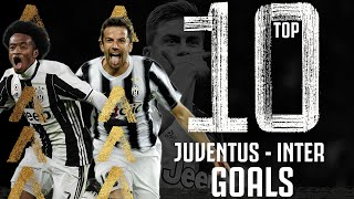 Juventus vs Inter - Top 10 Goals | Cuadrado, Dybala, Del Piero, Nedved & More! | Juventus
