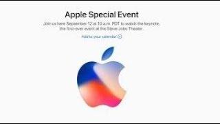 Apple September, 2017 Key Note at the Steve Jobs Theater Full, 1080p