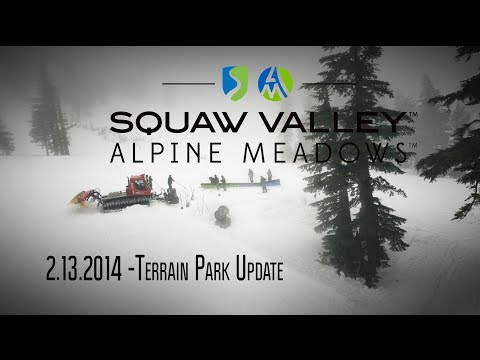 Park Update: 2-13-14  |  Alpine Meadows and Squaw Valley