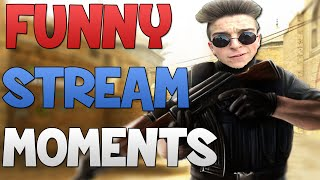 CS:GO - Funny Stream Moments! (20.000$ DONATION, TRIGGERED & MORE!)