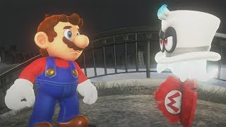 Super Mario Odyssey Walkthrough Part 1 - Cap & Cascade Kingdom (Nintendo Switch)