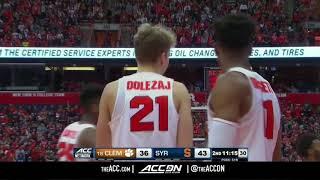 Clemson vs Syracuse College Basketball Condensed Game 2018