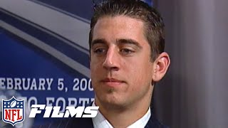 Aaron Rodgers Draft Day Slide & MUCH MORE! | 2005 Caught in the Draft