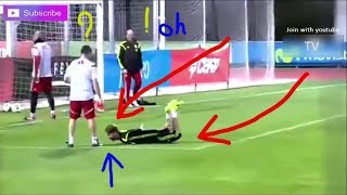 Outfield Players As Goalkeepers ● Unbelievable! Crazy Football Skills l 2018