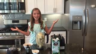 Kid Size Cooking-Vegan Banana Nut Smoothie